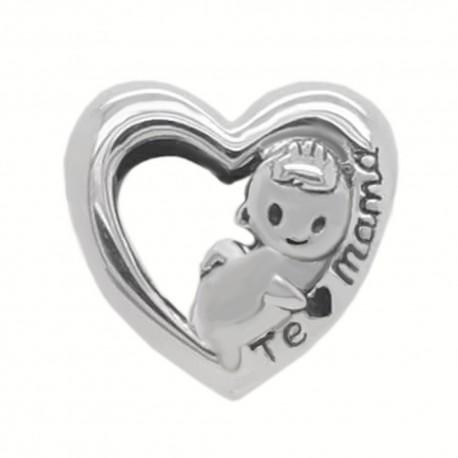 Corazón con bebe