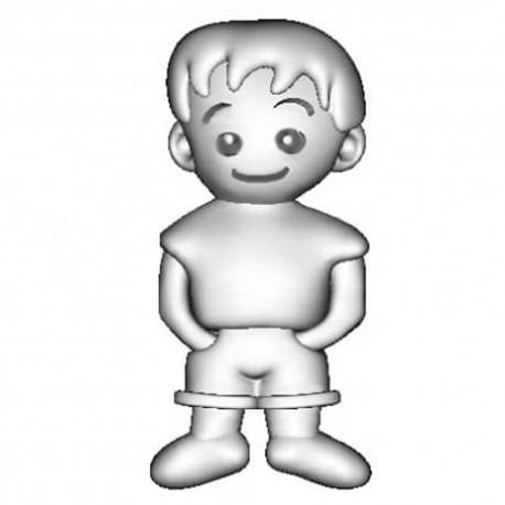 Abalorio Niagarra de plata Niño